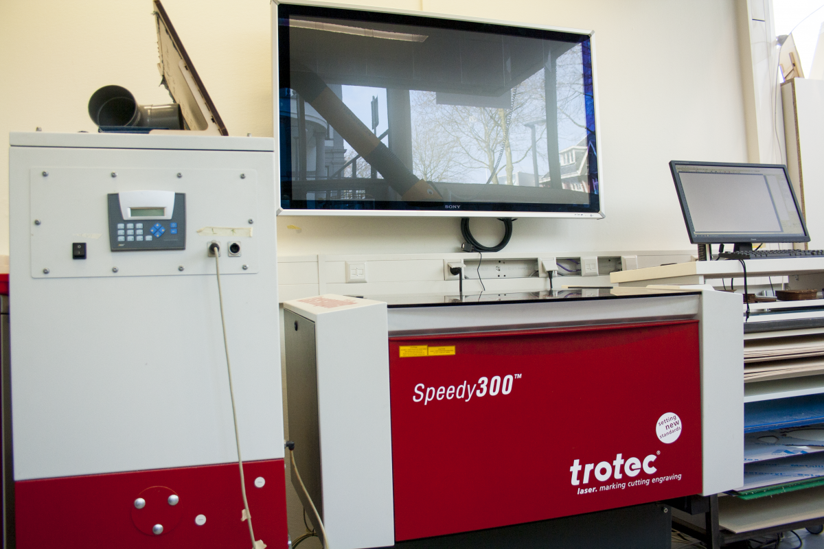 Trotec case study over Saxion FabLab