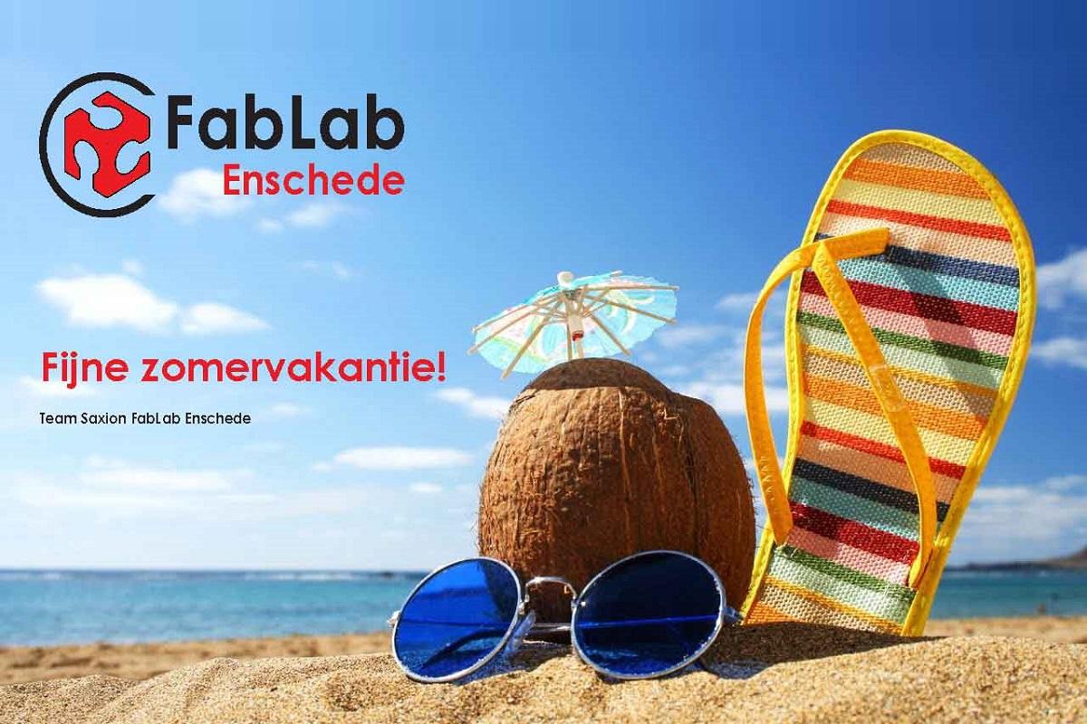 Fijne zomervakantie!