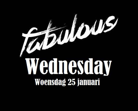 Kick-off Fabulous Wednesday!