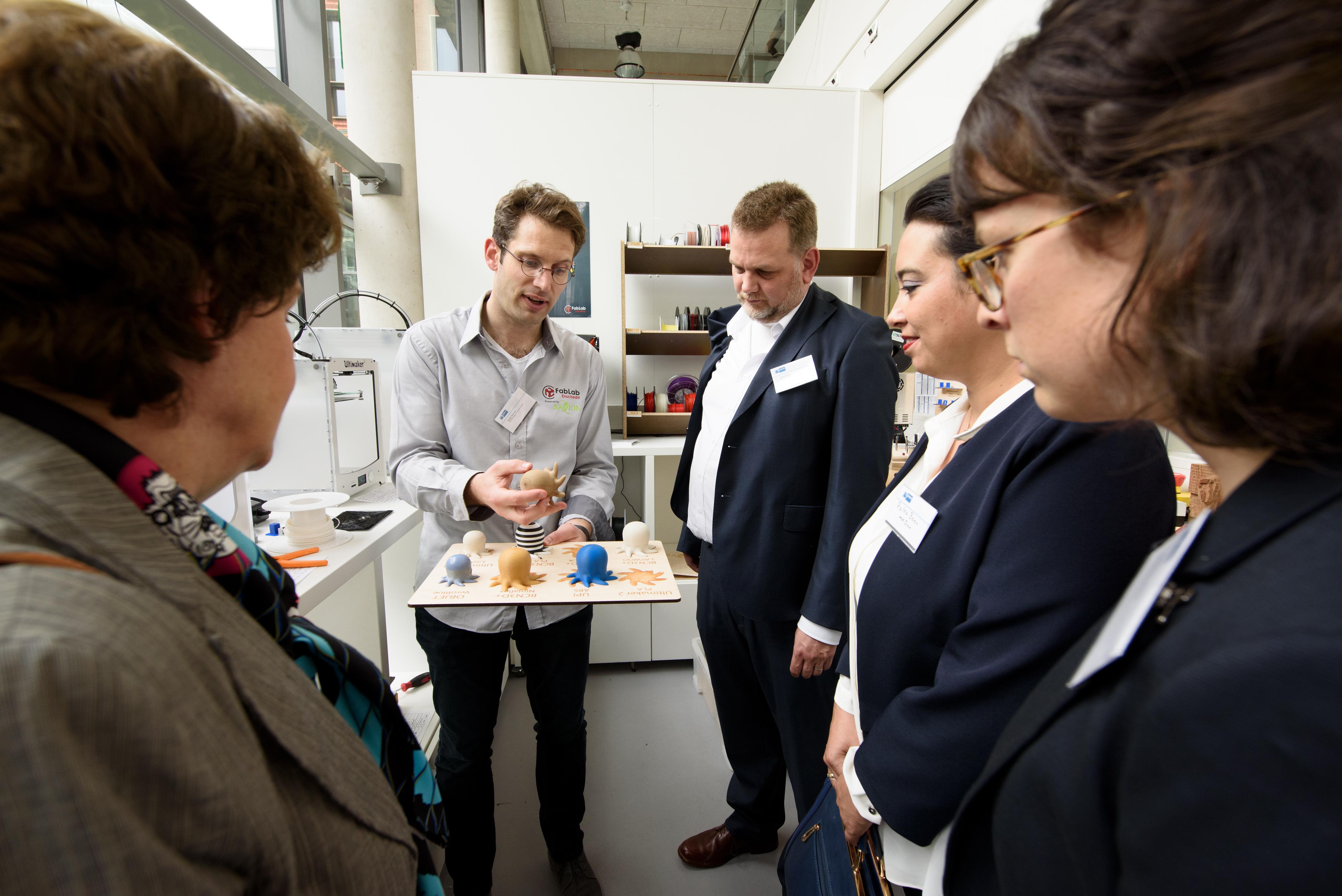 Duits-Nederlandse Handelskamer op bezoek