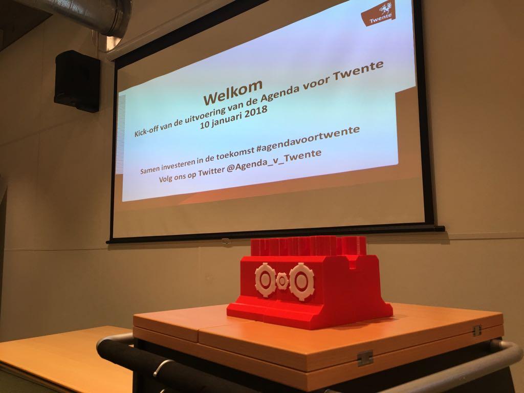 FabLab maakt motor 'Agenda voor Twente'
