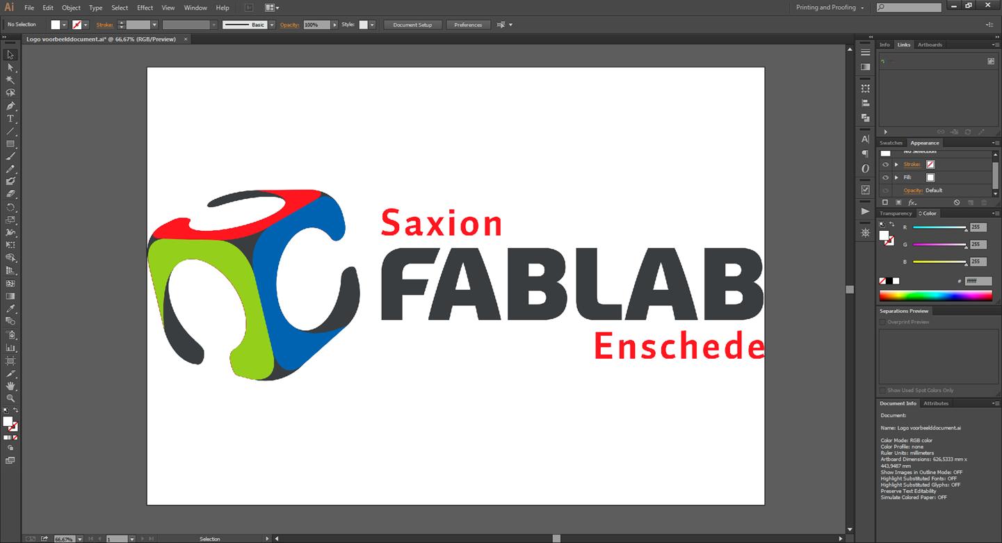 Tijdelijk geen Adobe Illustrator in FabLab Enschede