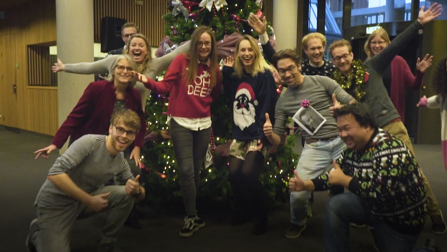 Fijne feestdagen namens Saxion FabLab Enschede & Lectoraat ID