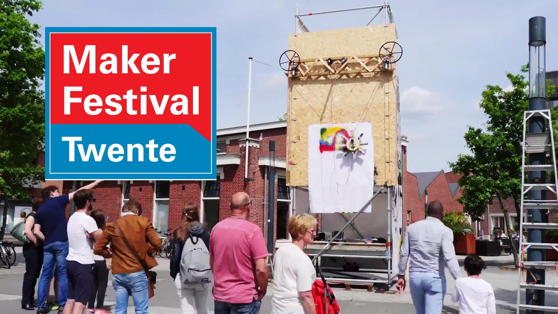 Maker Festival Twente 25 en 26 mei 2019